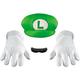 Luigi Accessory Kit Adult