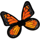 Wings Butterfly Satin Ch Yello