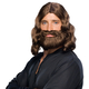 Brown Beard And Wig For Biblical Costumes