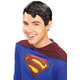 Superman Vinyl Wig For Adults