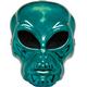 Alien Hockey Green Mask For Halloween