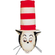 Cat In The Hat Mask W Hat For Adults