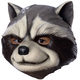 Rocket Racoon Mask For Children