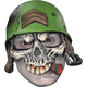 Sergeant Adult Half Cap Mask For Halloween