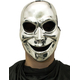 Sinister Ghost Silver Mask For Halloween